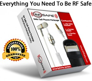 RF Safe safest cell phone radiation accessory package