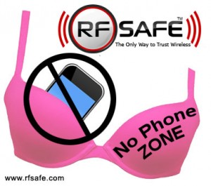cell phone breast cancer no phone zone