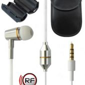 RF Safe white, mono Safe Cell Phone Package