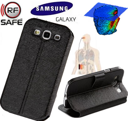 newest 427ef 3a011 Smartphone Radiation Shield F-Series Case For Samsung Galaxy