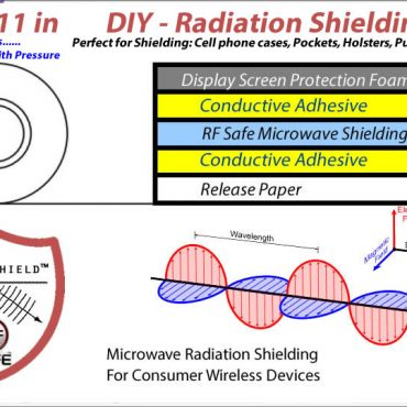 8x11 Peel-n-Shield Radiation Shielding