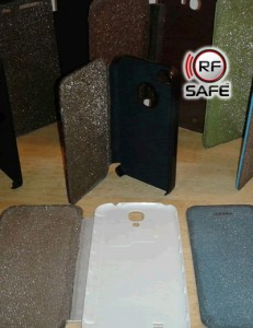 RF Safe radiation shielded flip cases for all the most popular smart phones