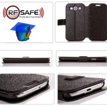 Samsung-galaxy-S3-flip-cover-case-radiation-shielded-flip-cover-black