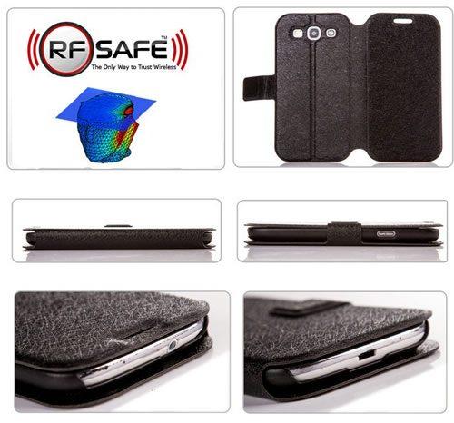 Samsung-galaxy-S3-flip-cover-case-radiation-shielded-flip-cover-black