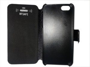 apple iphone 5 flip cover case radiation shields