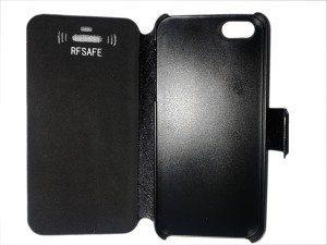 apple iphone 5 flip cover case radiation shields