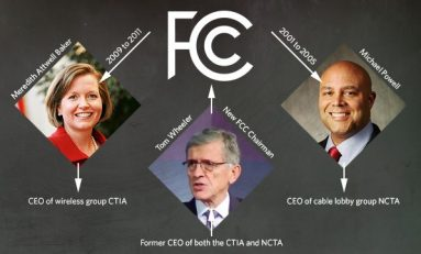 FCC is led by a former lobbyist; the lobbyists are led by former FCC leaders.