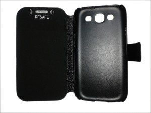 s3 galaxy flip cover case radiation shield