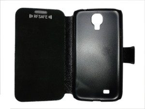 s4 galaxy flip cover case radiation shield