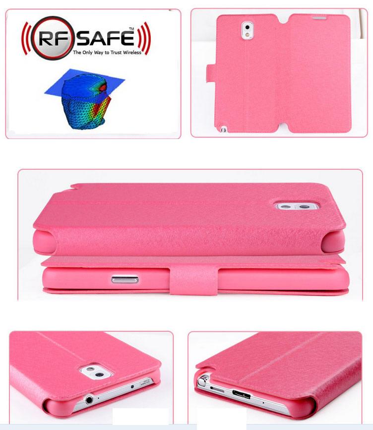 Samsung Galaxy Note 4 Flip Cover Case u2013 RF (Radio Frequency) Safe
