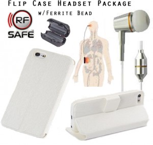 iphone-radiation-package-white-rfsafe-flip-case-white-air-tube-headset-ferrite
