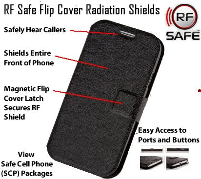 Cell phone radiation cases
