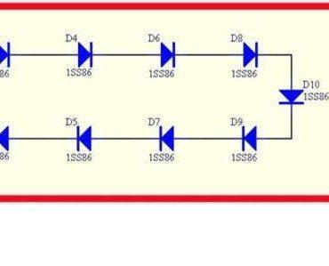 RF radiation-Powered LED-DIY-Kit