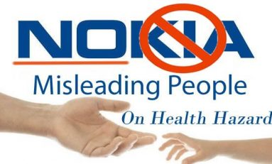 Former Nokia Boss Crippled By Cell Phone Radiation Warns Public of Danger