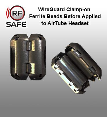 RF Safe Ferrite Bead