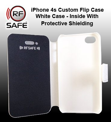 cheap for discount 1c61a 75416 Apple iPhone 4s Flip Cover Case – RF (Radio Frequency) Safe