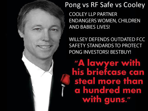 Pong vs RF Safe vs Cooley LLC
