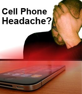 smartphone causing your headache cell phone radiation