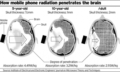 Study Shows Smartphone Radiation Triggers Memory Loss In Right-handed Teenagers