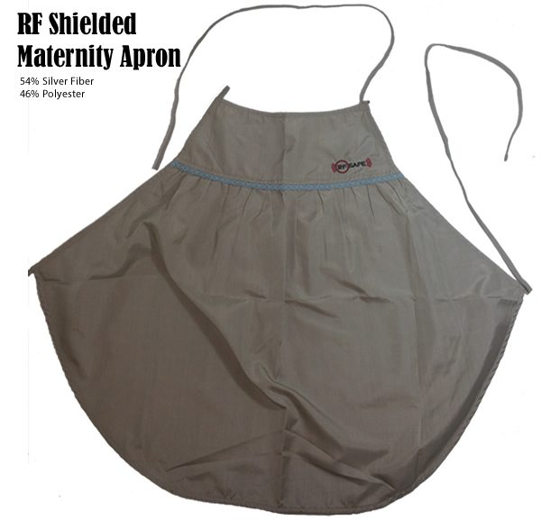Home / EMF/RF Apparel / Maternity Apron / RF Safe Belly Tee Apron ...