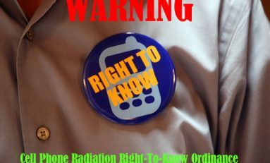Cell Phone Radiation Right-To-Know Ordinance Unanimously Passes In Berkeley CA