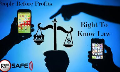 RF Safe's Anti-Radiation Smartphone Cases Salute 1st Amendment By Including Berkeley Cell Phone Radiation Safety Warning