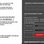 FCC ID SAR Checker