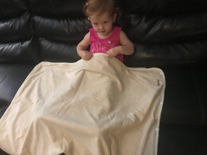 RF Safe baby blanket