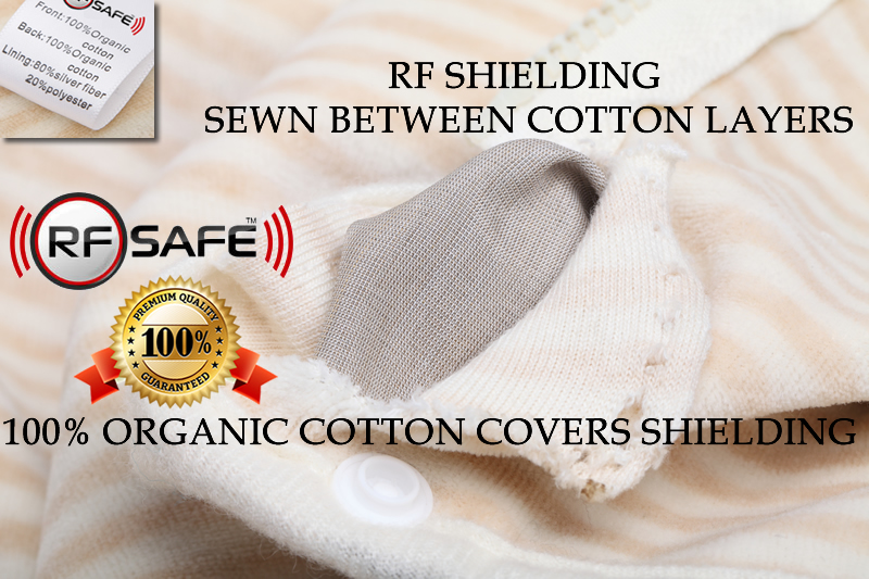 Toddler RF Safety – RF Radiation Shielded Baby Beanie with