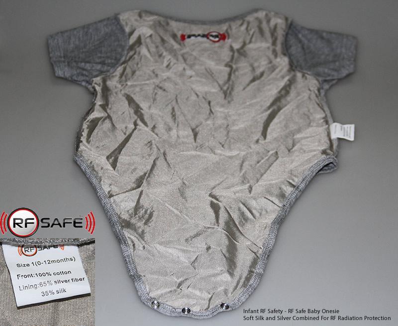 Infant RF Safety - RF Safe Baby Onesie RF Radiation Protection
