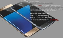 Galaxy S7 Nearly Exceeds Highest Legal SAR Level at 1.59 W/kg