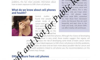 Judge Orders Release of Cellphone Radiation Fact-sheet Withheld for 7 Years By California Health Officials
