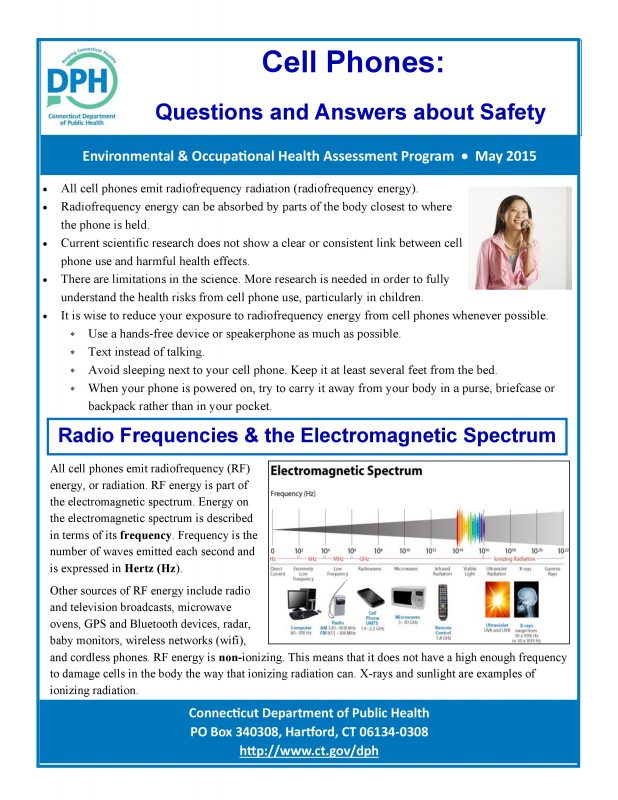 Connecticut-Department-of-Public-Health-cell-phone-fact-sheet