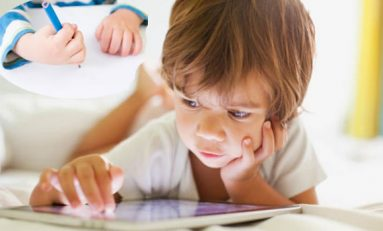 Excessive use of touchscreens weakening muscles, disabling children from holding pens and pencils