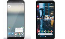 Google Pixel 2 vs Google Pixel 2 XL