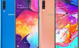 SAMSUNG GALAXY A50 vs SAMSUNG GALAXY A70 SAR Level