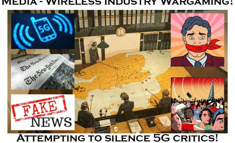 The Wireless Industry and Media are War-Gaming 5G Critics