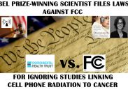 FCC Hit with Lawsuit  by Nobel Prize Winner Alleging Failure to Protect Public Health