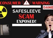 Safesleeve Case Misleads Consumers For Years Until Exposed By California News Channel Review of Safesleeve Scam
