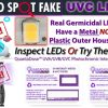 how-to-test-if-uvc-light-fake-UV-card-uvc-led-light-fake-germicidal-led-test-strip-quantadose-uv-indicator-card