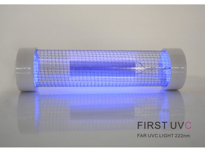 QuantaLamp 20-Watt Far UVC Excimer Bulb 222nm First-UVC F-Series 20w Far-UV Light 24V DC