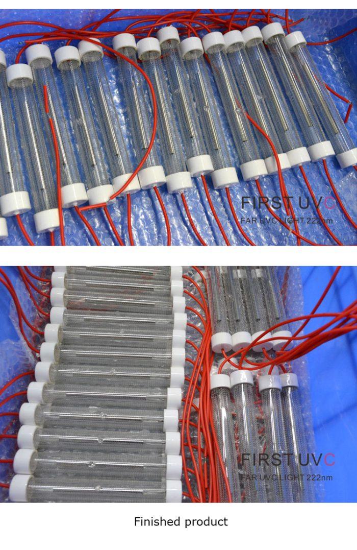 QuantaLamp Excimer 15-Watt 222nm Far-UVC Light Bulb First-UVC FUV-Series 15w Far-UV Light 24V DC